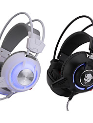 3.5MM Top Quality Gaming Headset Stereo Headband Headphone With LED Light Vibration DJ