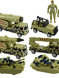 Véhicules militaires Pull Back Véhicules 1:20 ABS Vert