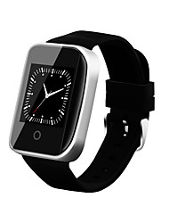 Men's Smart Watch Fashion Watch Digital / Silicone Band Casual Black Brand