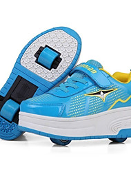 chaussures de sport tombent en cuir confort d'hiver en plein air crochet talon bas athlétique&lacets boucle chaussures de patin à