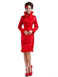 Lolita Classica e Tradizionale Ispirazione Vintage Elegant Cosplay Vestiti Lolita Con stampe Raccolta Manica lunga Lunghezza media Abito