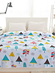 150cm*200cm Floral Quilts Material Twin 1pc Bedspread Not Include Pillowcase