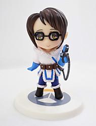Figuras de Ação Anime Inspirado por Overwatch Fantasias PVC 8 CM modelo Brinquedos Boneca de Brinquedo