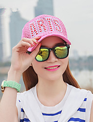The New Outdoor Sports Baseball Cap Sequins Cloth Hat Letter Couple Sunscreen Peaked Cap