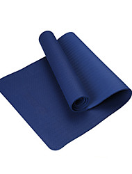 TPE Tapis de Yoga Ecologique Sans odeur 4.0 mm Bleu royal Other
