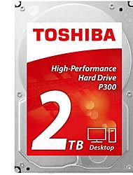 Toshiba 2TB Área de trabalho do disco rígido 7200 SATA 3.0 (6Gb / s) 64MB esconderijo 3.5 polegadas-HDWD120