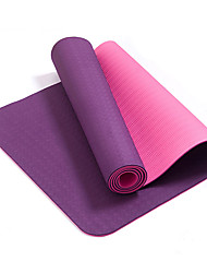 Yoga Mats Ecológico Sem Cheiros Grossa 6 mm Roxa Other