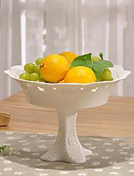 cor branca louça cerâmica bolo bandeja pan queque ficar bandeja prato de frutas prato de sobremesa queque