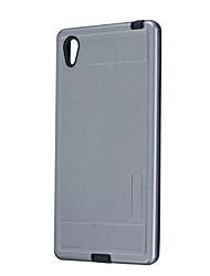 Pour Etanche à la Poussière Coque Coque Arrière Coque Couleur Pleine Dur Silicone pour Sony Sony Xperia Z5 Sony Xperia Z3 Sony Xperia M2