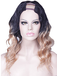 Long Body Wave U Part Wigs For Sale Malaysian Remy Virgin Human Hair 20Inch 130% Density 1.5*4Inch Middle Part Accept Custom