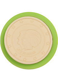 Coin Shape Fondant Silicone Molds for Chocolate Candy and Cake Decorating