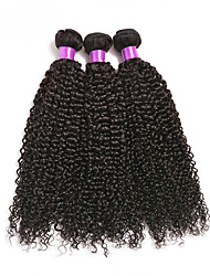Brazilian Virgin Hair Jerry Curl 3 Bundles AliHair Hair Brazilian Jerry Curl Cheap Human Hair Extensions Brazilian Jerry Curly