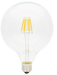 6W Ampoules à Filament LED G125 6 COB 600 lm Blanc Chaud Décorative AC 100-240 V 1 pièce