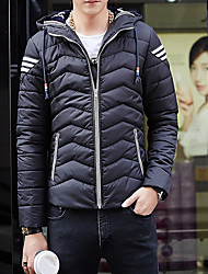 Winter leisure hooded jacket young men thick padded cotton hooded jacket trend of men