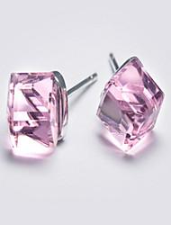 Stud Earrings Jewelry Women Sterling Silver 1 pair Silver