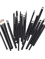 20Pcs Makeup Brushes Set Powder Foundation Eyeshadow Eyeliner Lip Cosmetic Brushes Make Up Brush Set Hot Selling