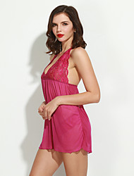 Women Chemises & Gowns Nightwear , Polyester