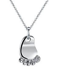Women's Pendant Necklaces AAA Cubic Zirconia Zircon Platinum Plated Alloy GeometricRhinestone Fashion Punk Adjustable Adorable