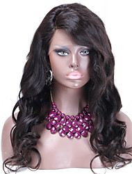 Glueless lace front wigs cheap Brazillian virgin human hair wig 100% human hair weave with baby hair