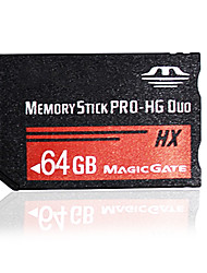 64GB High Speed MS Memory Stick Pro Duo Card Storage for Sony PSP 1000/2000/3000 Game Console