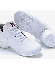 Damen-Flache Schuhe-Sportlich-PU-Flacher Absatz-D'Orsay und Zweiteiler-Weiß Schwarz Burgund