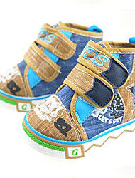 Baby Boys' Flats Canvas Summer Casual Flat Heel Blue Flat