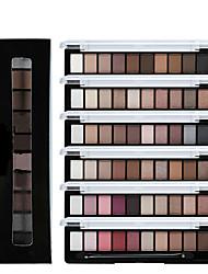 1Pcs Earth Color Eyeshadow Palette Glitter Eye Palette Brand Matte Colour Makeup Pigment Eye Shadow