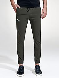 Hombre Tallas Grandes Delgado Pantalones Harén Chinos Pantalones de Deporte Pantalones,Un Color Casual/Diario Discoteca DeportesSencillo