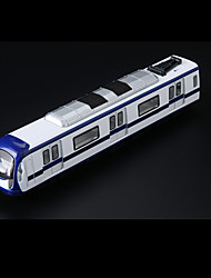 Train Pull Back Vehicles Car Toys 1:10 Metal Navy Blue Model & Building Toy