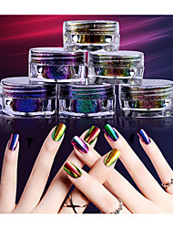 0.2g/Box Super Chameleon Optical Mirror Mirror Nail Powder
