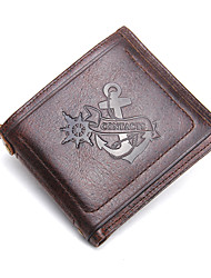 Contacts Genuine Cowhide Thin Short Wallet Pocket Money Clip Sports Casual Outdoor Office & Career Shopping Wallet Men