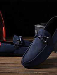 Herren-Sneaker-Lässig-PUKomfort-Schwarz Blau Rot