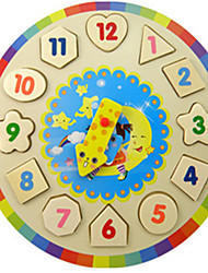 Jigsaw Puzzles Building Blocks Educational Toy Jigsaw Puzzle Building Blocks DIY Toys Circular Wood Novelty Toy
