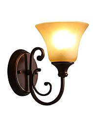 contemporânea recurso moderno / acabamento preto óxido de parede estilo mini balanço armuplight arandelas luz de parede