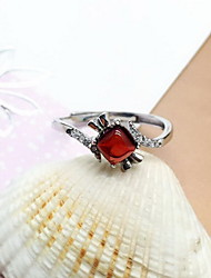 Ring Daily Casual Jewelry Gem Ring 1pc One Size