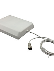 9dbi Indoor Panel Antenna 800-2700MHz Signal Repeater Internal Antenna Came with 2m Cable(Connect Repeater Directly)
