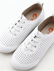 Girl's Sneakers Comfort PU Casual Black White