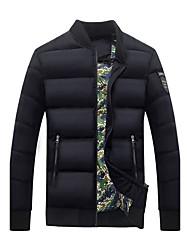 Hommes&hiver col matelassé grands chantiers baseball adolescents d'korean mince veste de coton court paragraphe manteau marée des