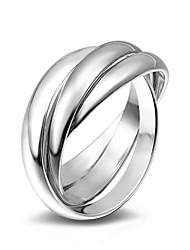 Anneaux Bague bijoux de fantaisie Alliage Forme de Cercle Bijoux Pour Mariage Soirée Occasion spéciale Quotidien Décontracté