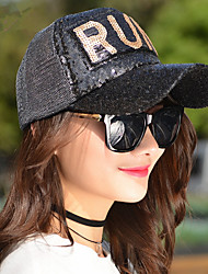 Fashion Hat Wild Spring And Summer Of The New Letter Run Sequins Net Hat Ms. Sun Shade Baseball Cap