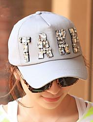 Spring And Summer Fashion Leisure Ladies Handmade Diamond TAKE Letter Baseball Cap Peaked Cap