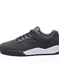 Men's Sneakers Spring Summer Fall Winter Comfort Fabric Outdoor Office & Career Casual Athletic Lace-up Black Red Gray