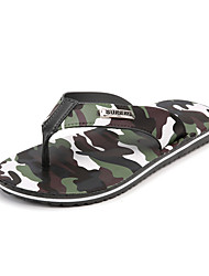 Men's Sandals Spring Summer Fall Mary Jane Comfort Cowhide Outdoor Casual Low Heel Hollow-out Black White Khaki Walking