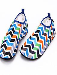 Обувь для плавания Не требуется никаких инструментов Плавание Подводное плавание и снорклинг Pезина Лайкра Синий Красный