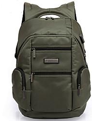 45 L Заплечный рюкзак Пригодно для носки Дышащий Черный защитный зеленый