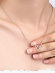 Pendants Basic Design Heart Design Fashion Alloy