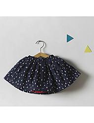 Girl Beach School Solid Skirt-Rayon All Seasons