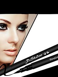 Lápis de Olho Lápis Molhado Gloss Colorido Longa Duração Natural Preta