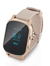 t58 wifi Smartphone Uhr GSM-GPRS GPS-Locator-Tracker-Anti-verlorene Kind Smartwatch Schutz für ios android