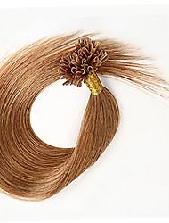 Hot Sale U Tip Hair Extension 7A 100% Cuticle Malaysian Virgin Hair Straight Extensions Natural Straight Hair